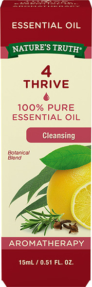 Nature's Truth 100% Pure Botanical Blend Essential Oil Cleansing - .5 oz