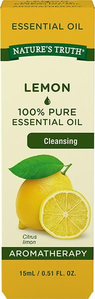 Nature's Truth Aromatherapy Essential Oil Lemon - .5 oz