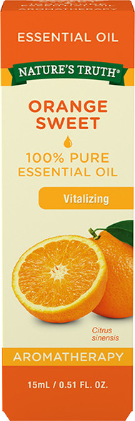 Nature's Truth Aromatherapy Essential Oil Orange Sweet - .5 oz