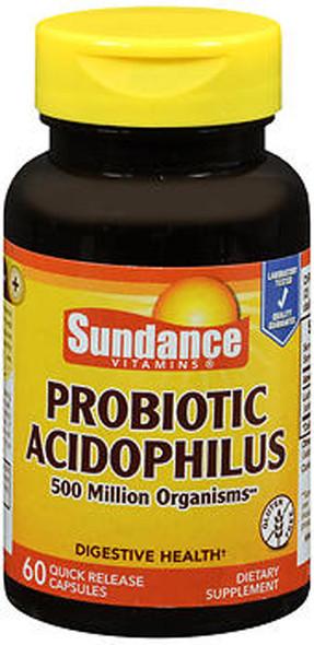 Sundance Probiotic Acidophilus Quick Release - 60 Capsules
