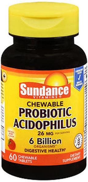 Sundance Probiotic Acidophilus - 60 Chewable Tablets