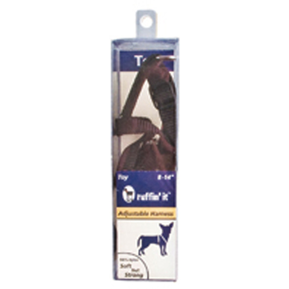 Adjustable Nylon Dog Harness, Assorted - 8-14""