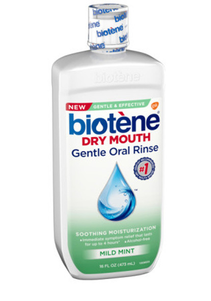 Biotene Moisturizing Oral Rinse Original Flavor - 16 oz