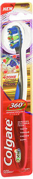 Colgate Total 360 Degrees Whole Mouth Clean Toothbrush Soft