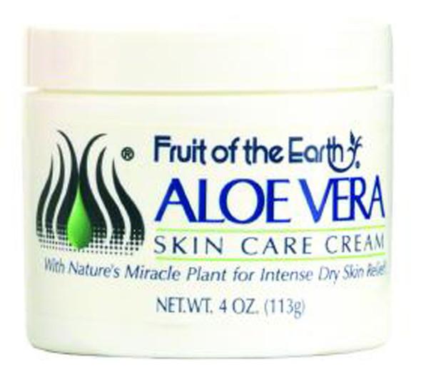 Fruit of the Earth Aloe Vera Skin Care Cream - 4 oz
