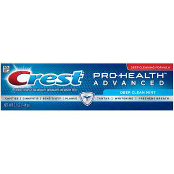 Crest Pro-Health Advanced Fluoride Toothpaste Soothing Smooth Mint - 5.1 oz