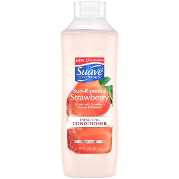 Suave Essentials Shine Conditioner Sun-Ripened Strawberry - 30 oz