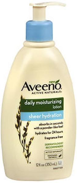 Aveeno Active Naturals Daily Moisturizing Lotion Sheer Hydration - 12 oz