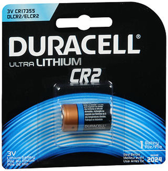 Duracell Ultra Lithium Battery CR2 - 1 ea
