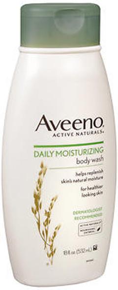 Aveeno Active Naturals Daily Moisturizing Body Wash - 18 oz