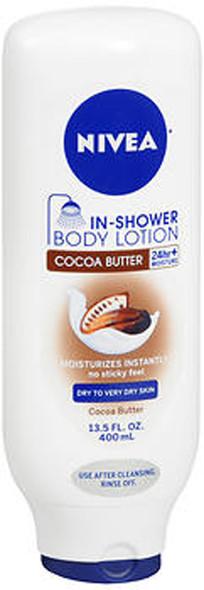Nivea In-Shower Body Lotion Cocoa Butter - 13.5 oz