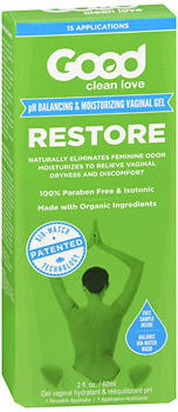 Good Clean Love Restore Vaginal Hydrating Gel - 2 oz