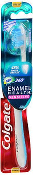 Colgate 360 Degrees Enamel Health Sensitive Toothbrush Extra Soft