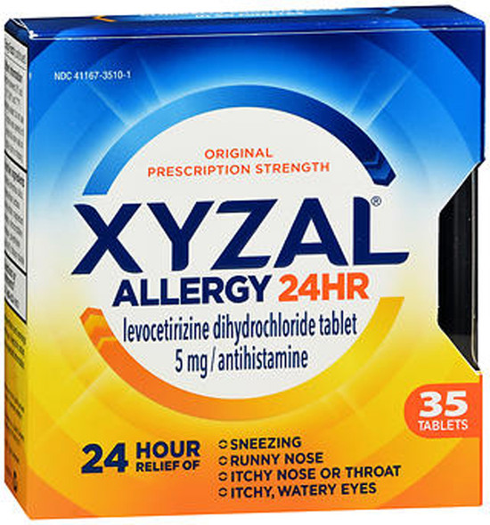 Xyzal Allergy 24 Hour - 35 Tablets