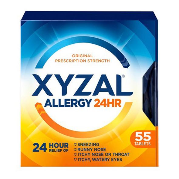 Xyzal Allergy 24 Hour - 55 Tablets