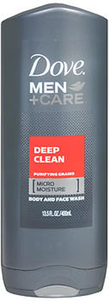 Dove Men + Care Deep Clean Body and Face Wash - 13.5 oz