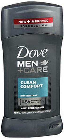 Dove Men + Care Antiperspirant Clean Comfort - 2.7 oz