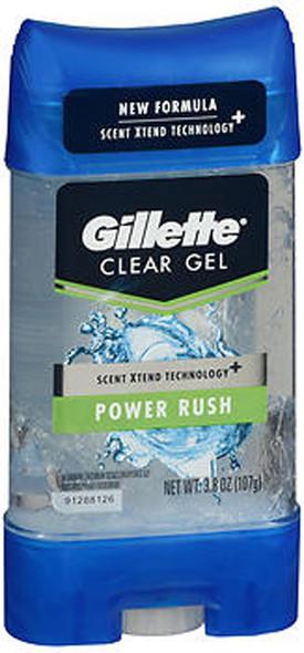 Gillette Anti-Perspirant/Deodorant Clear Gel Power Rush - 3.8 oz