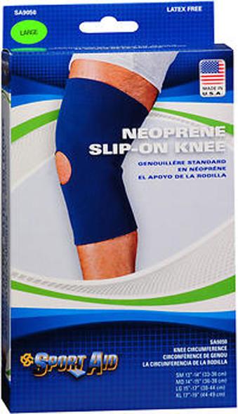 Sport Aid Neoprene Slip-On Knee Support LG - 1 ea.
