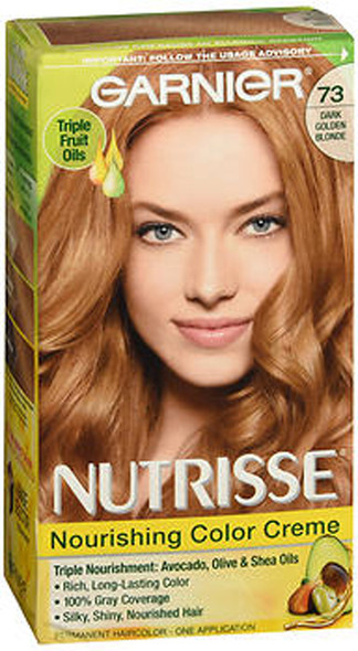 Garnier Nutrisse Nourishing Color Creme 73 Dark Golden Blonde