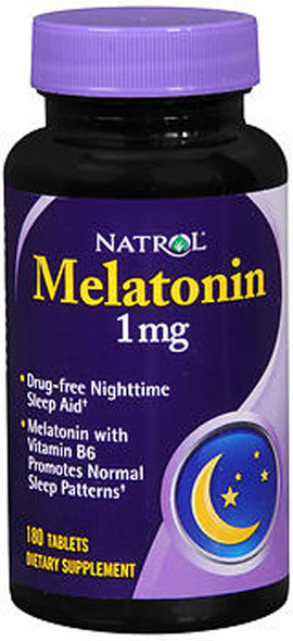 Natrol Melatonin 1 mg - 180 Tablets