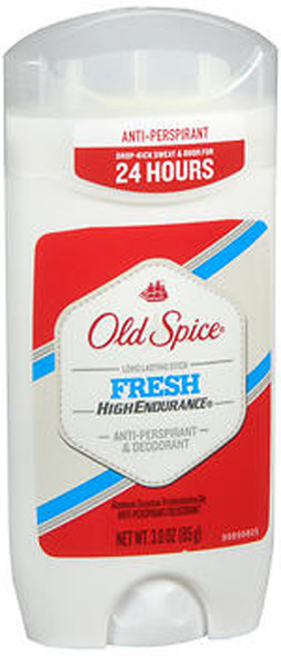 Old Spice High Endurance Anti-Perspirant & Deodorant Stick Fresh - 3 oz