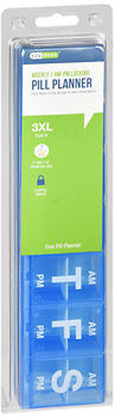 Ezy Dose 7-Day AM/PM Locking Pill Reminder - 1 case #67376