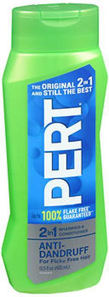 Pert Plus 2 in 1 Shampoo & Conditioner Anti-Dandruff - 13.5 oz