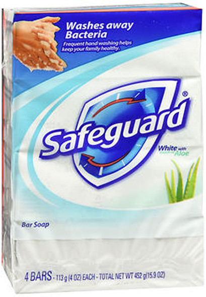 Safeguard Deodorant Antibacterial Deodorant Soap White - 16 oz
