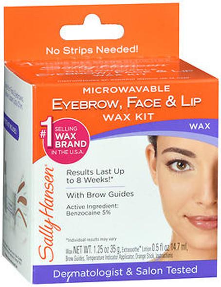 Sally Hansen Microwaveable Eyebrow, Face and Lip Wax - 1 each
