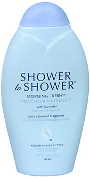 Shower to Shower Absorbent Body Powder Morning Fresh - 13 oz