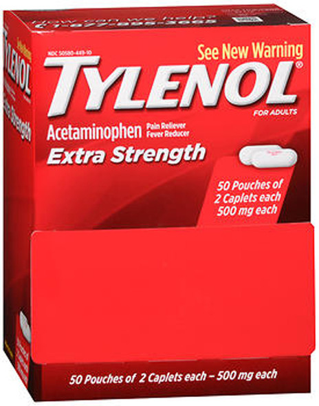Tylenol Extra Strength Caplets - 100 ct
