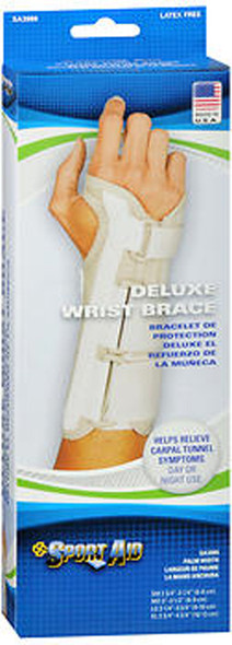 Sport Aid Deluxe Wrist Brace Small Right - 1 ea.