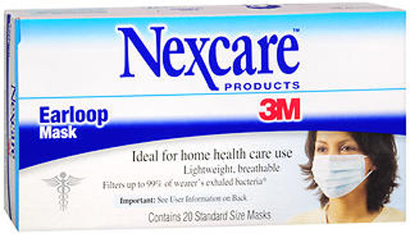 Nexcare Earloop Masks - 20ct
