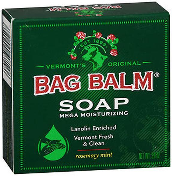 Bag Balm Mega Moisturizing Soap Rosemary Mint  - 3.9 oz Bar