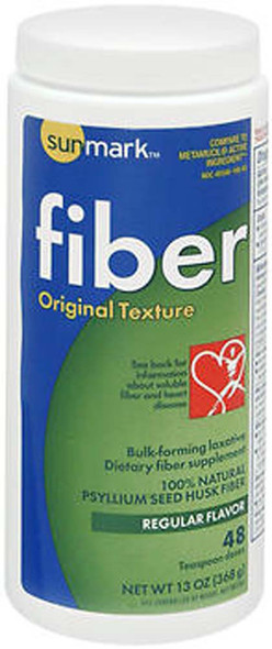 Sunmark Fiber Laxative Original Texture Regular Flavor - 13 oz