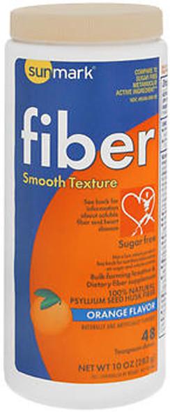 Sunmark Fiber Laxative Sugar Free Smooth Texture Orange - 10 oz