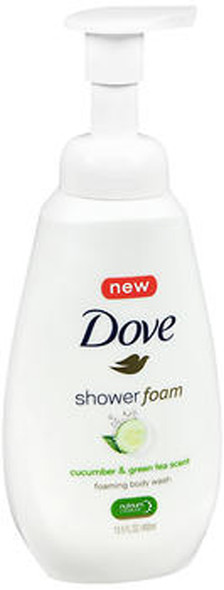 Dove Shower Foam Cucumber & Green Tea Scent - 13.5 oz