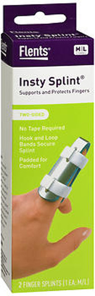 Flents Insty Split Two-Sided Finger Splint Medium and Large - 2 ct