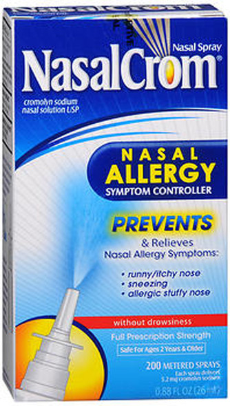 NasalCrom Nasal Allergy Symptom Controller Spray - 0.88 oz