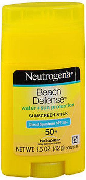 Neutrogena Beach Defense Water + Sun Protection Sunscreen Stick SPF 50+ - 1.5 oz
