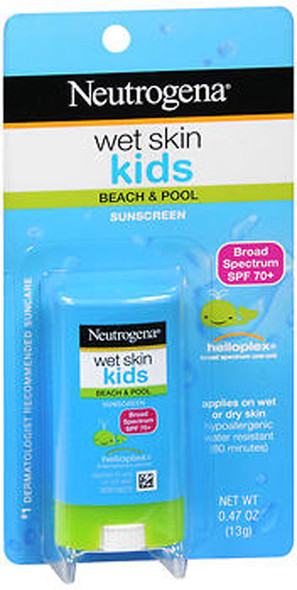 Neutrogena Wet Skin Kids Sunscreen SPF 70+ - .47 oz