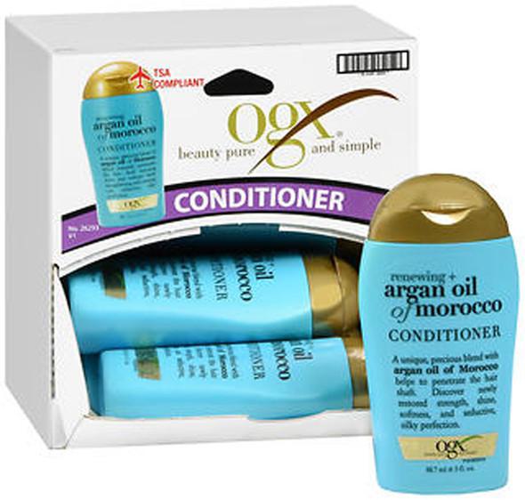 Ogx Renewing Argan Oil of Morocco Conditioner - 3 oz Tray of 10