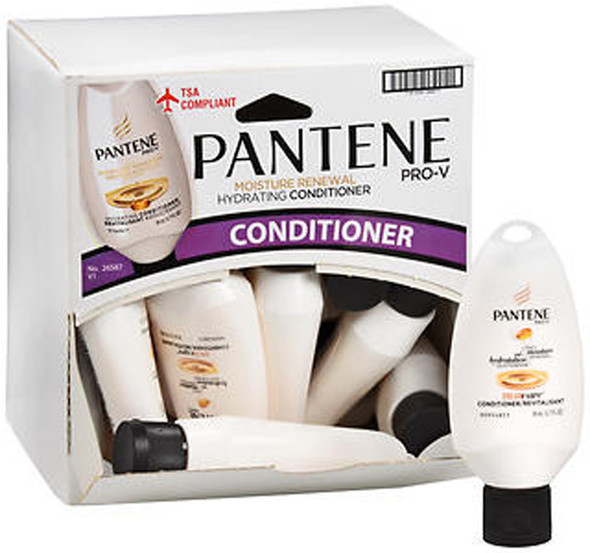 Pantene Pro-V Daily Moisture Renewal Silkening Conditioner - 1.7 oz Tray of 18