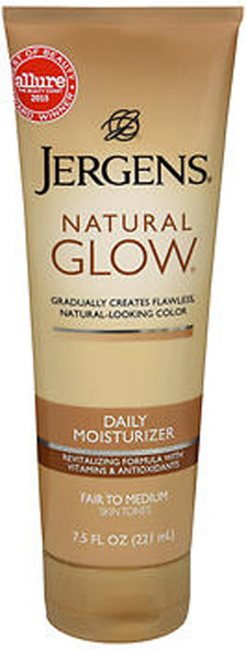Jergens Natural Glow Daily Moisturizer Lotion Fair to Medium Skin Tones - 7.5 oz