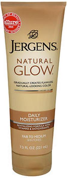 Jergens Natural Glow Daily Moisturizer Lotion Fair to Medium Skin Tones - 7.5 oz