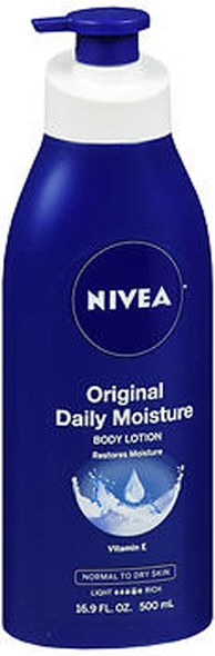 Nivea Original Daily Moisture Body Lotion  - 16.9 fl oz
