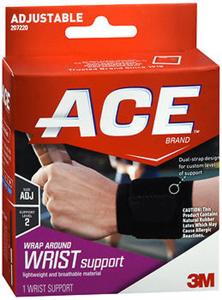 Ace Wrap Around Wrist Support Adjustable - Each