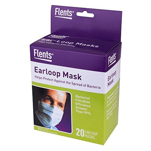 Flents Ear-Loop Mask - 20 ea.