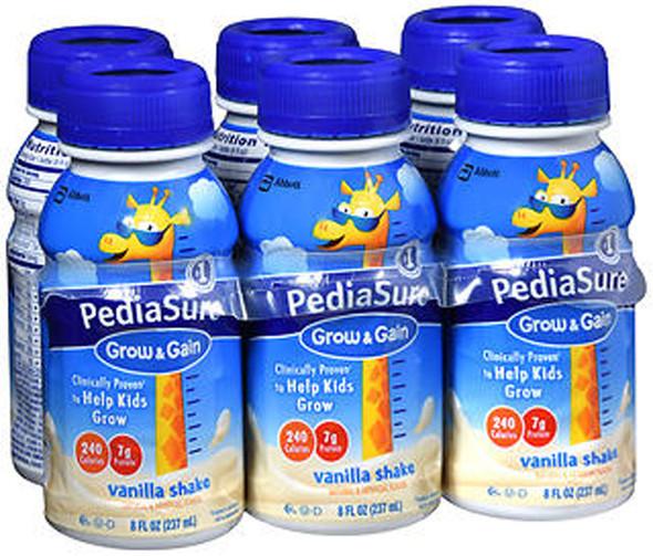 PediaSure Liquid Vanilla, 6 - 8 oz